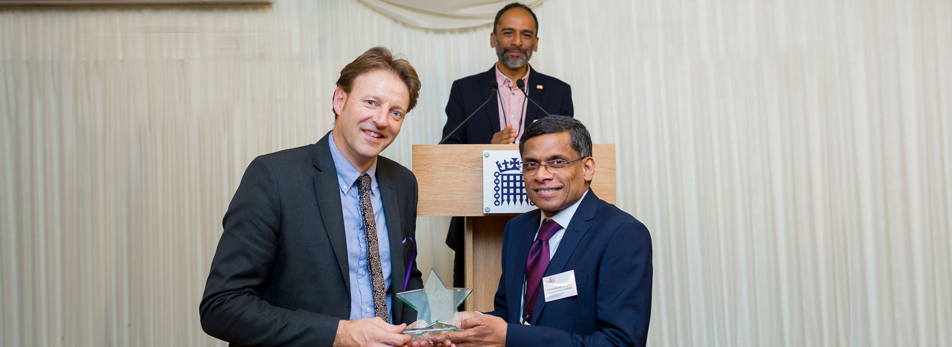 Dr Moorthy & Derek Thomas MP