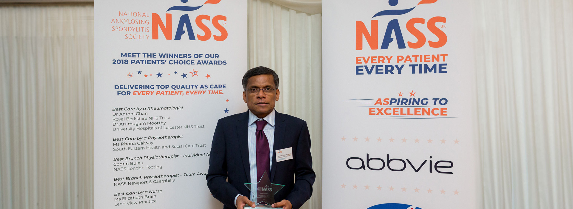Patients Choice Award Winner - Dr Arumugam Moorthy